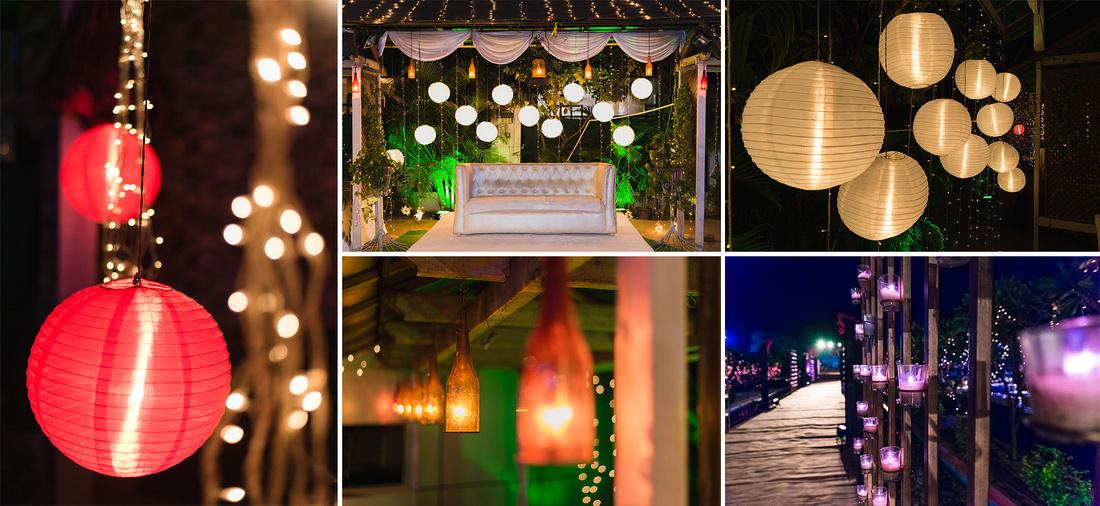 """""""Outdoor Wedding Lighting Tips"""""""
