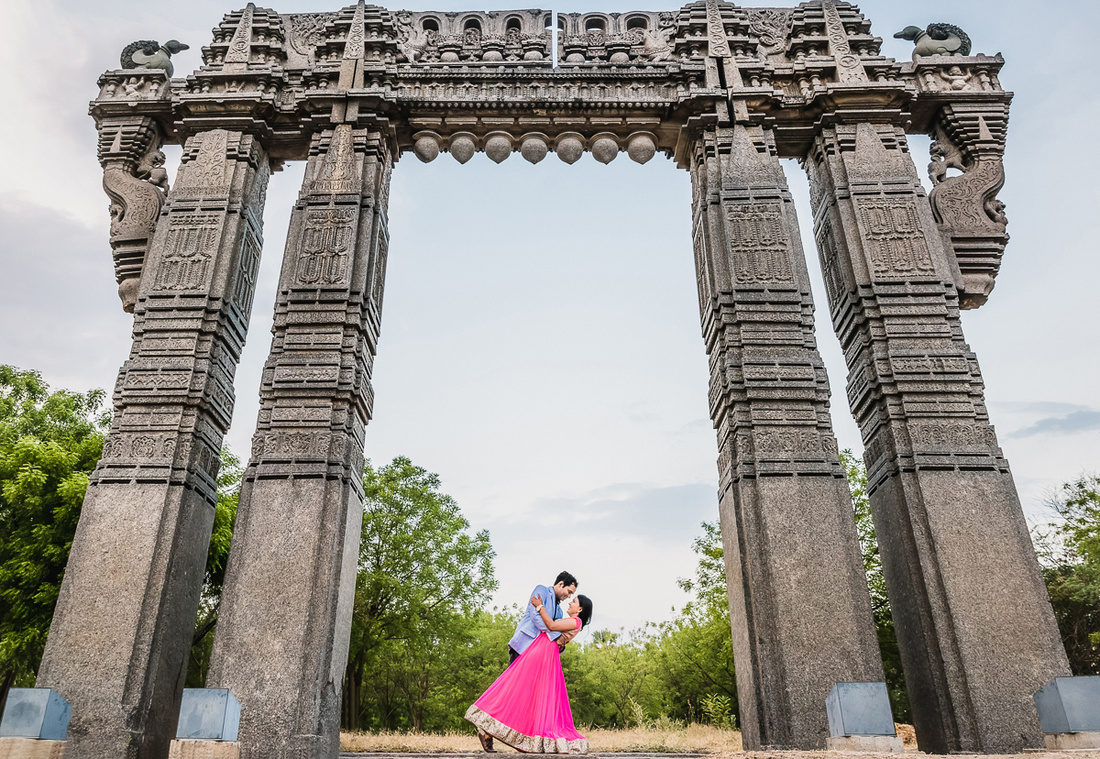 Couple-shoot-warangal-fort