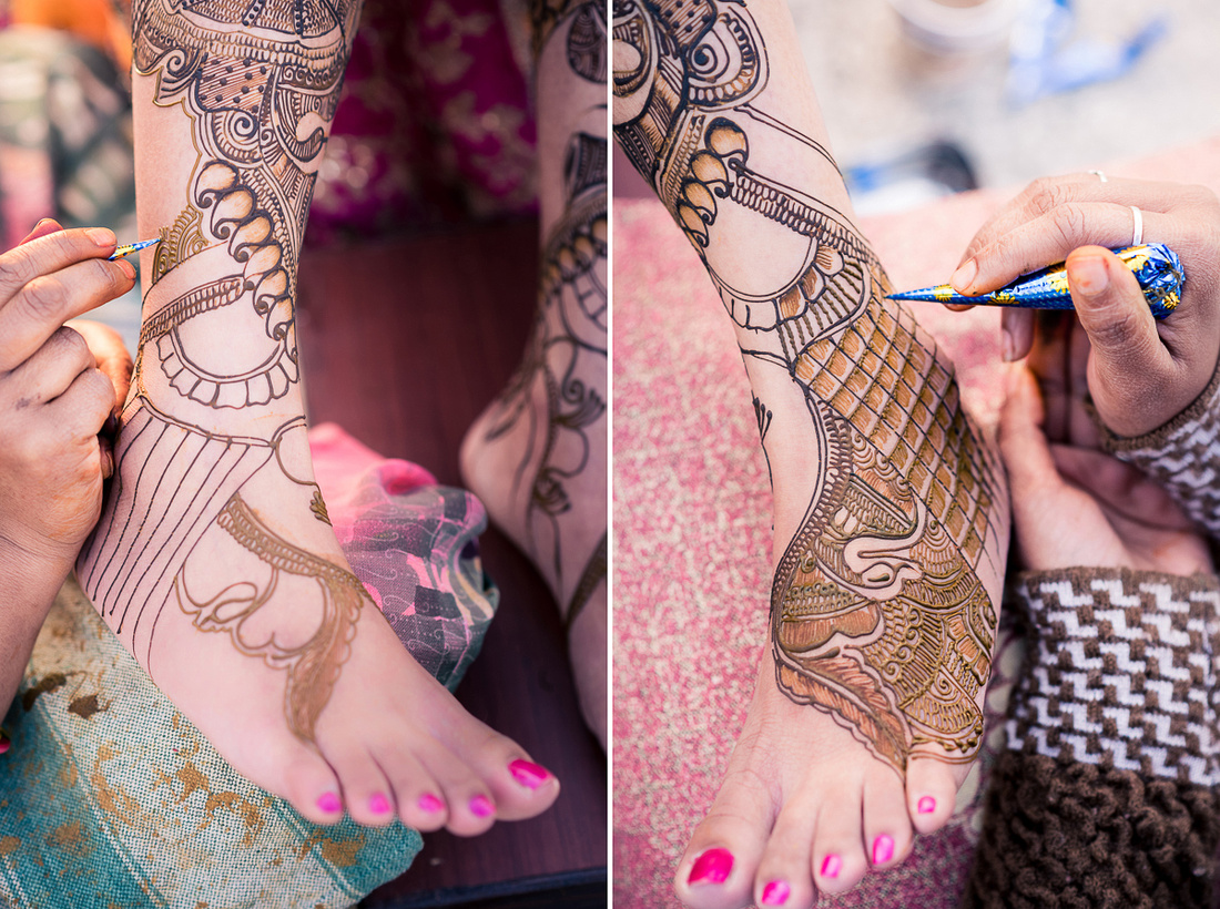 Mehandi designs for leg