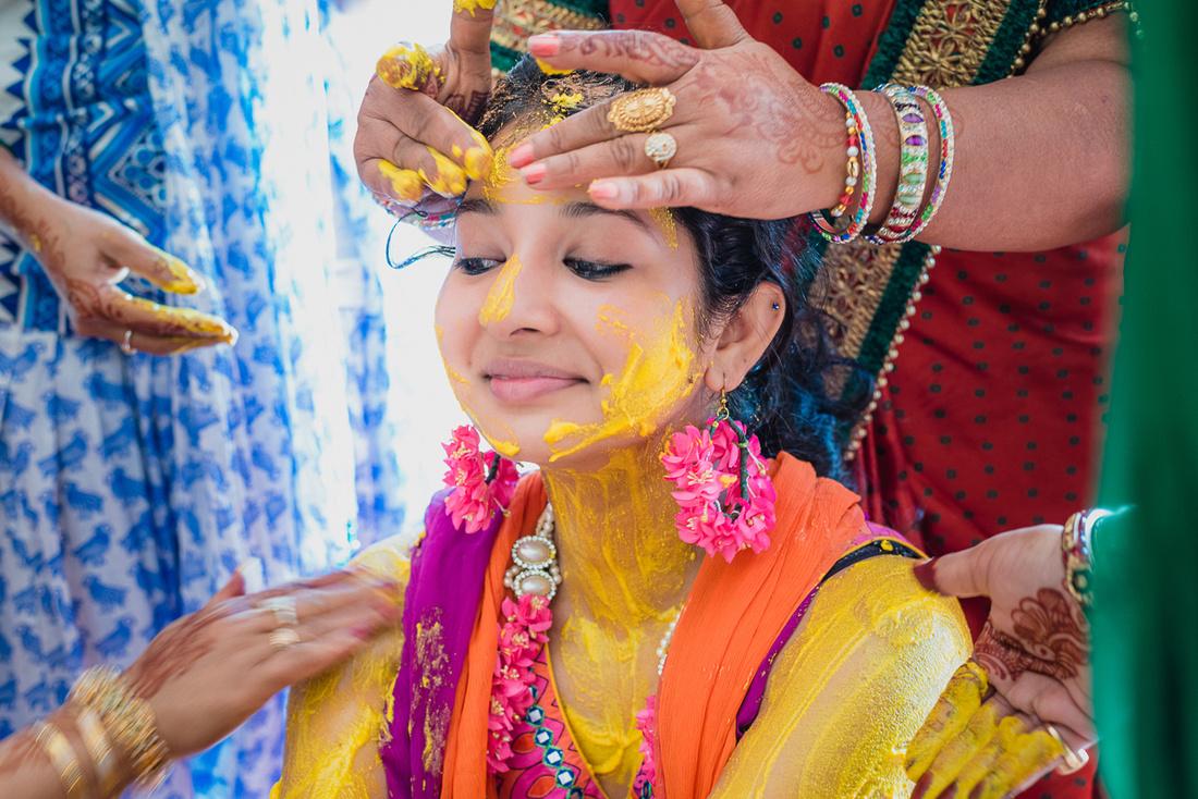 Bridal Haldi Ceremony Lucknow