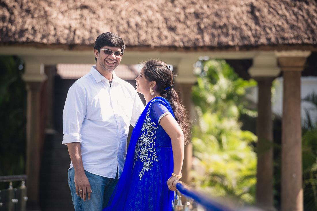 Postwedding shoot at Le Pondy, pondicherry