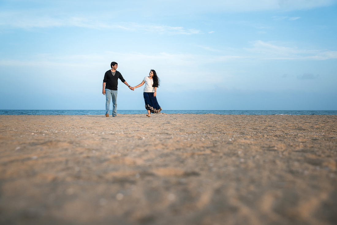 Postwedding shoot at Le Pondy, pondicherry