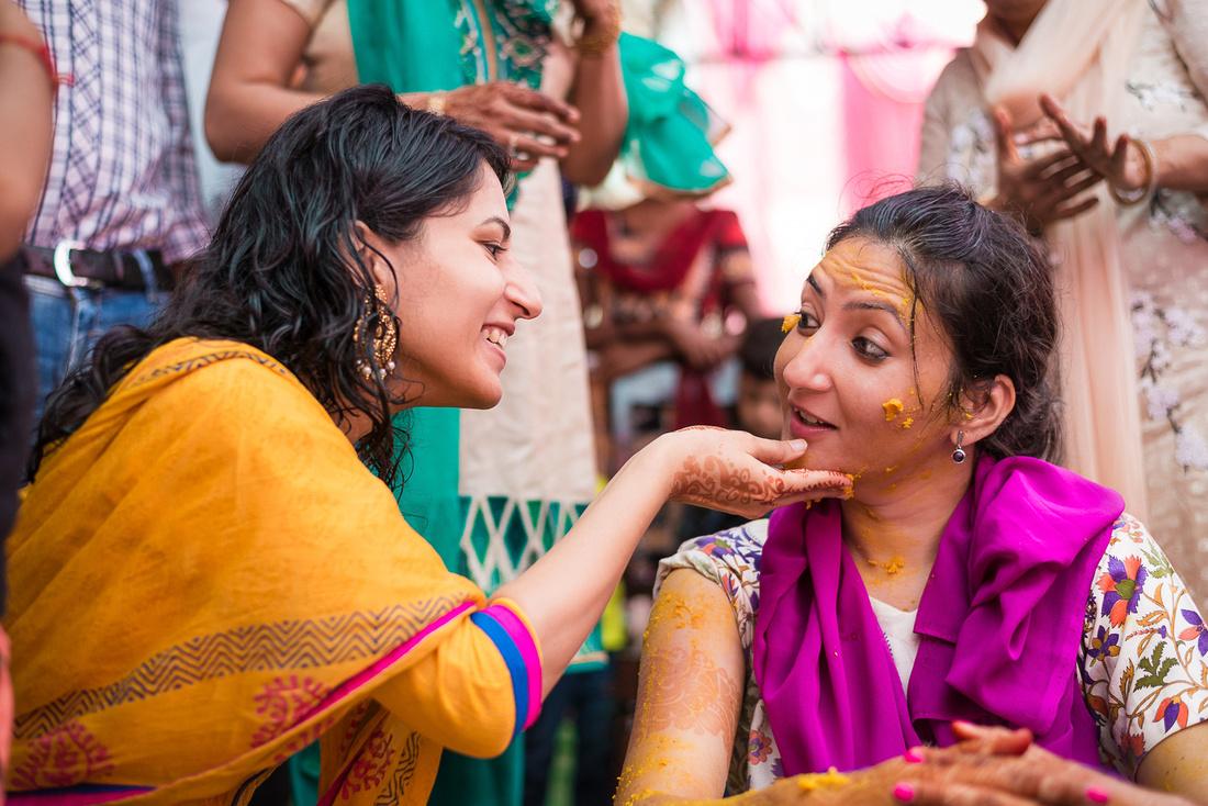 Haldi Ceremony at Nangal