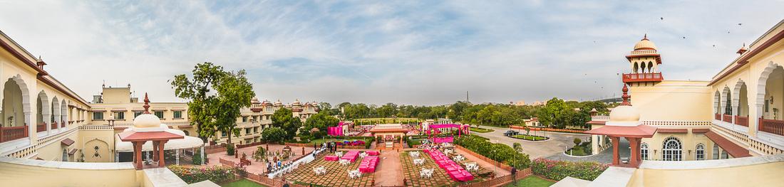 A beautiful wedding at Jai Mahal Palace, Jaipur